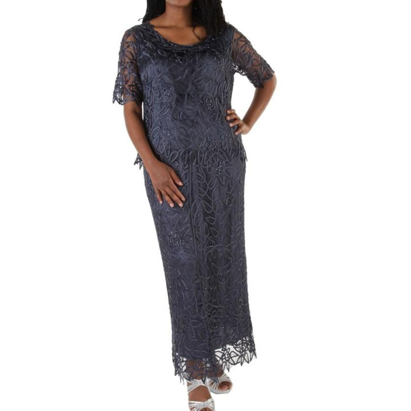 plus size fit and flare cocktail dress images
