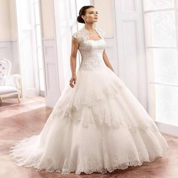Plus size princess ball gown wedding dresses wedding for Us size wedding dresses