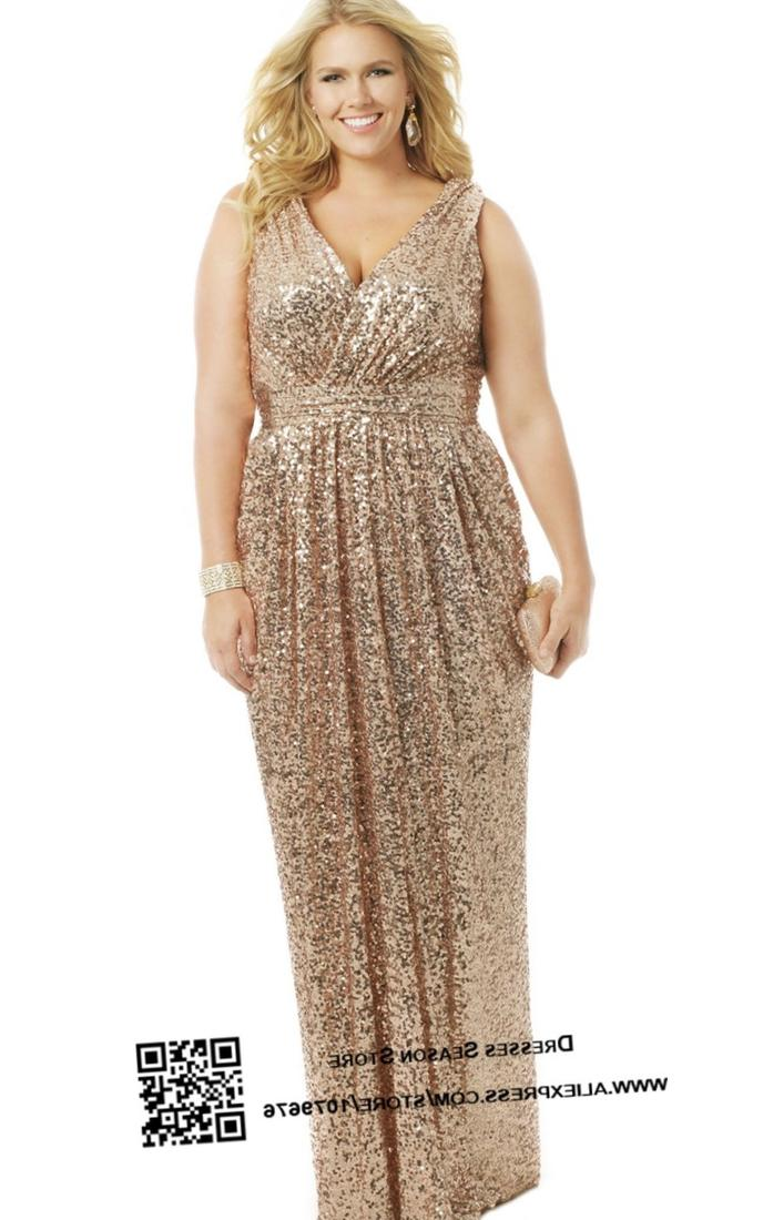 Plus Size Sequin Dress Cocktail - Holiday Dresses