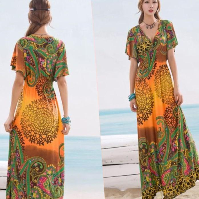 plus size boho maxi dresses - pluslook.eu collection