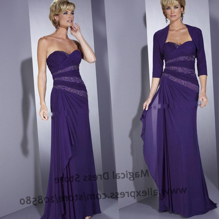 ZJ0087 strapless long sweetheart purple party gowns evening dresses maxi plus size 2017 new arrival elegant