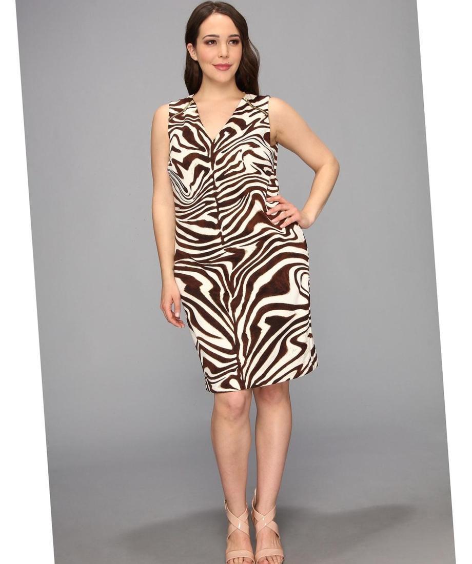 Plus Size Zebra Print Dresses Animal Print Clothing Ideas