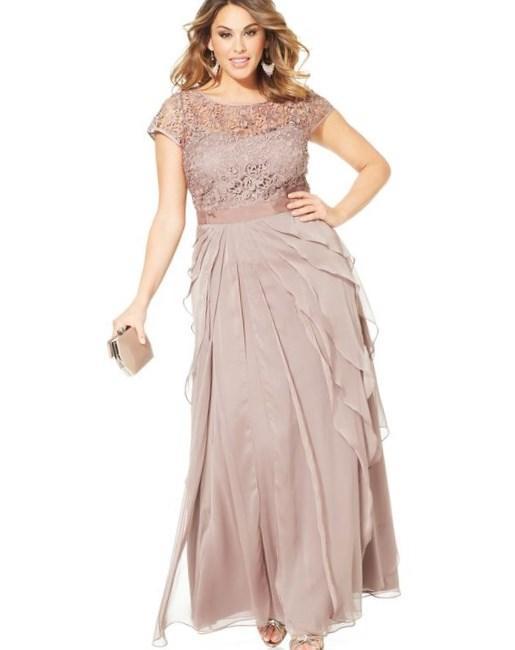 Women 39 s plus size dresses at macy 39 s formal dresses for Macy s wedding dresses plus size