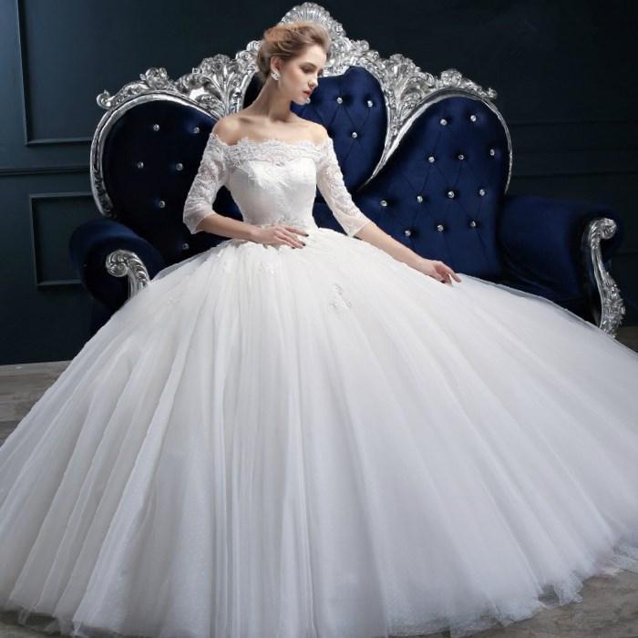 2017 Designer Said Elegant Sweetheart Liqued Beaded Vestidos De Novia Puffy Princess Wedding Dresses Plus Size