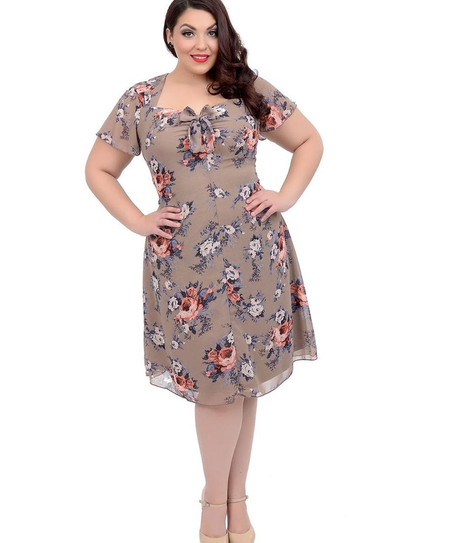 Plus size unique dresses - PlusLook.eu Collection