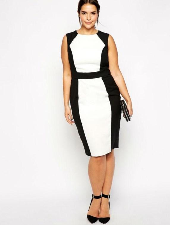 Trendy plus size white dresses - PlusLook.eu Collection