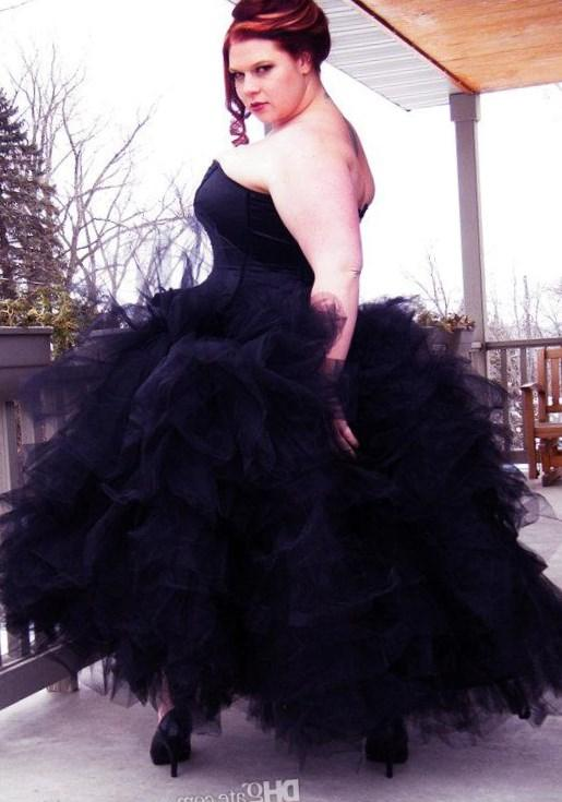 Plus Size Goth Prom Dresses 107