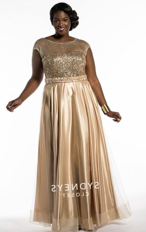 Long gold dresses plus size – Dresses bridal