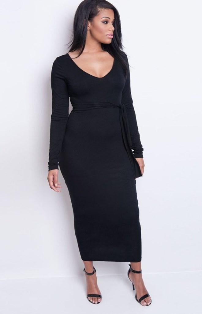 Elegant Black Masquerade Dresses