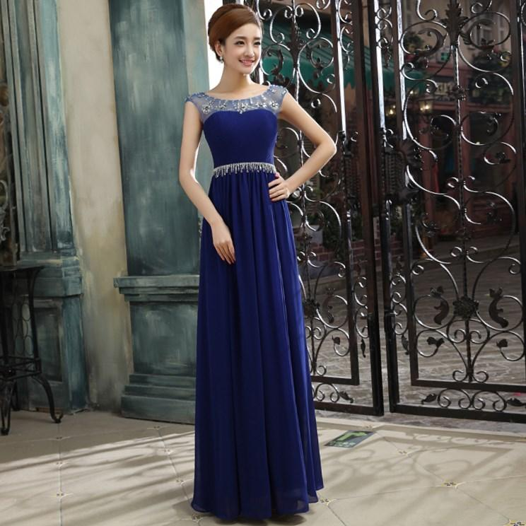 Plus size dresses for wedding party collection for Royal blue plus size wedding dresses