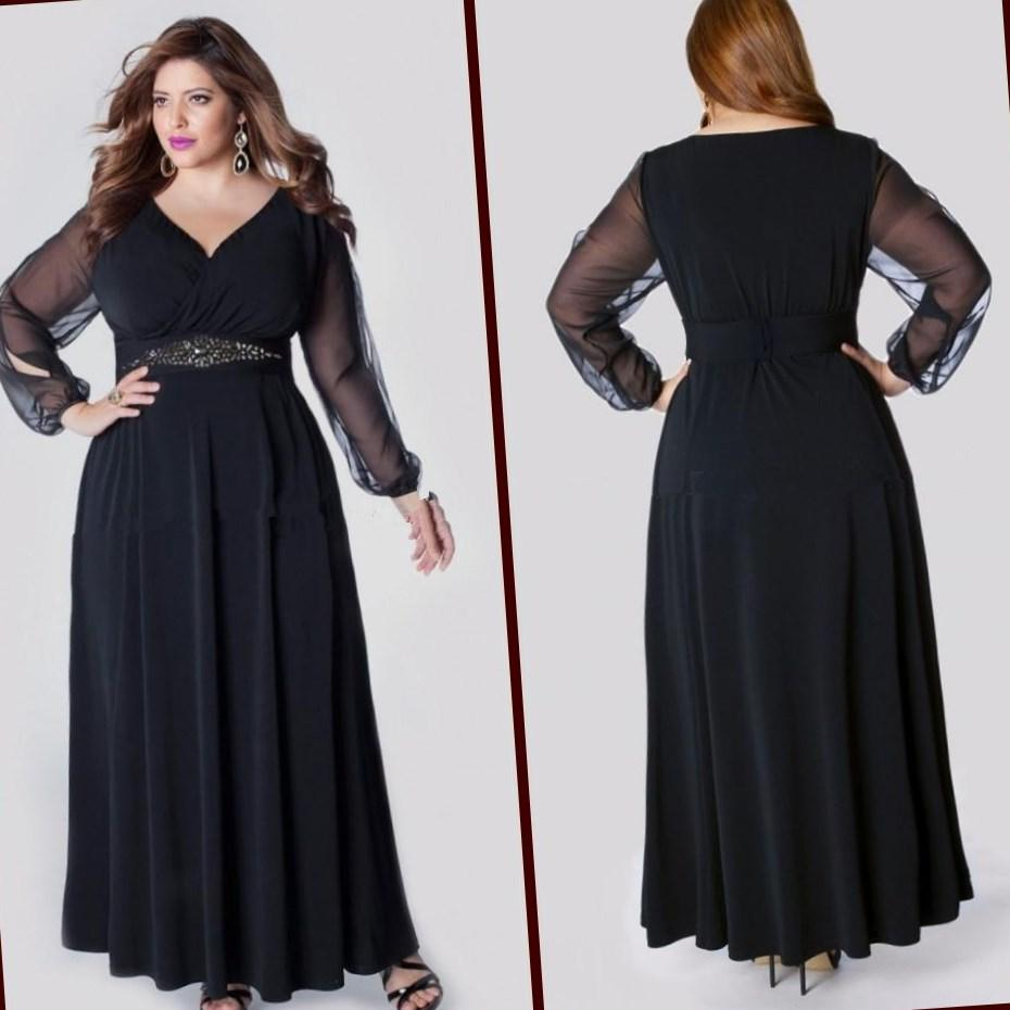 plus size cocktail dress sleeves pluslookeu collection