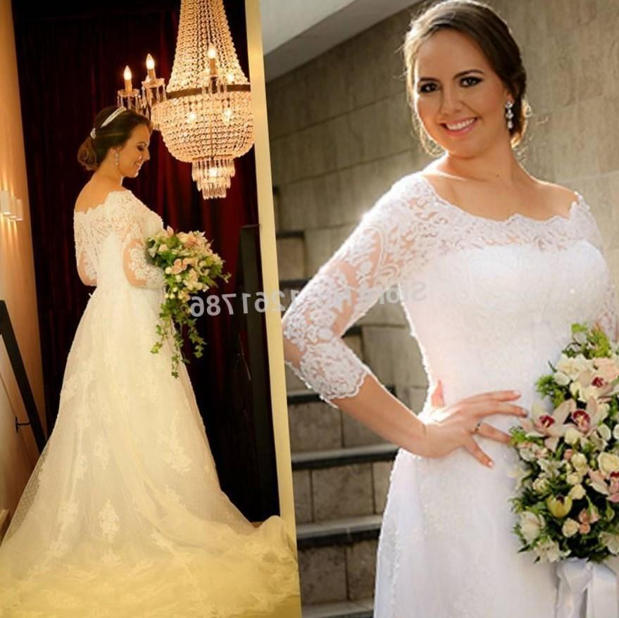 Plus Size Wedding Dresses Mermaid Style Promotion Shop For