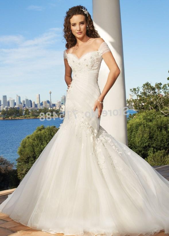 Maggie Sottero Monet, mermaid wedding dress, fit n flair wedding dress, plus size