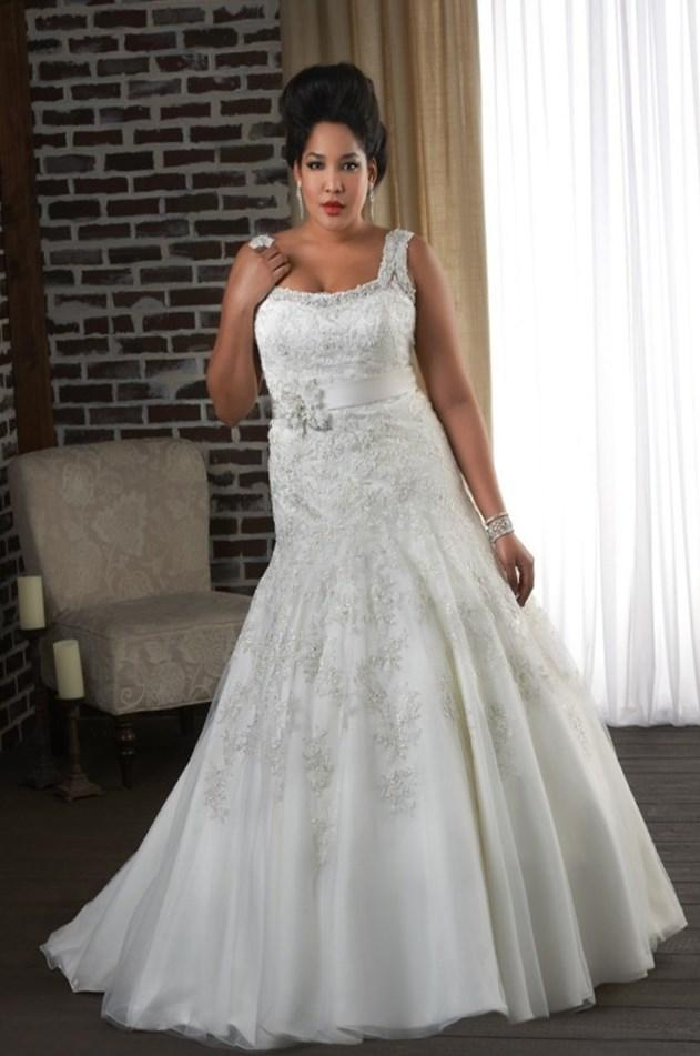 Wedding dresses for plus size woman collection for Full size wedding dresses