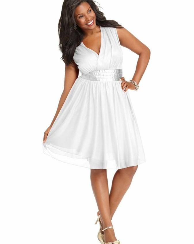 New york plus size evening dresses