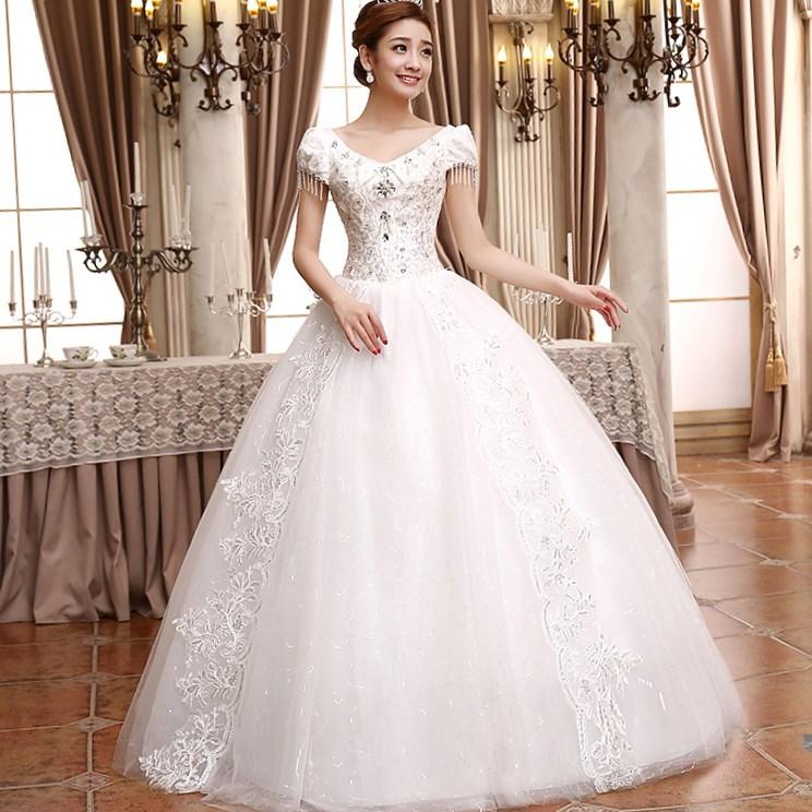 Plus Size Ball Gown Wedding Dress PlusLookeu Collection - Covered Back Wedding Dress