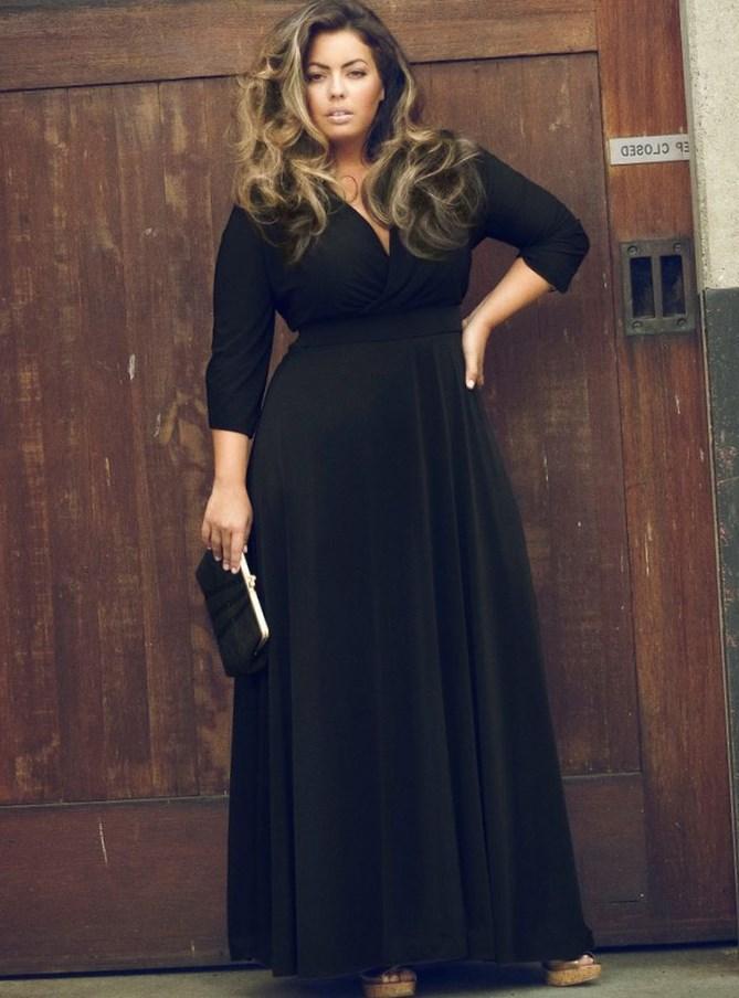 Maxi skirt plus size chiffon dresses