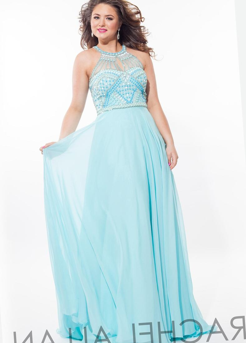 Blush plus size prom dresses - PlusLook.eu Collection