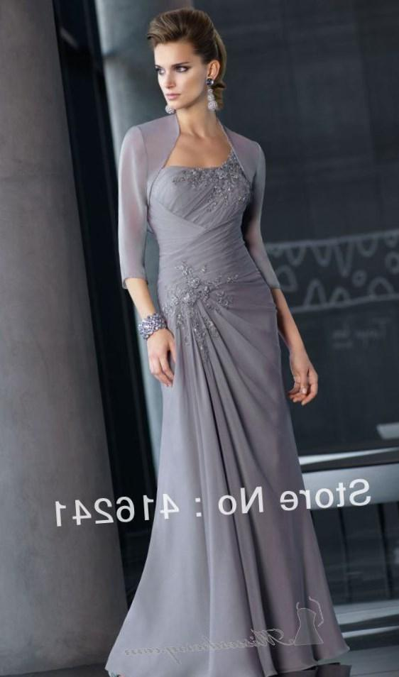 Grey Mother of the Bride Adrianna Papell Dresses – Fashion dresses