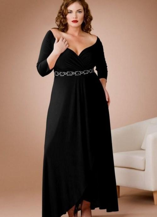 Plus Size Maid Of Honor Dresses With Sleeves Pluslook Eu
