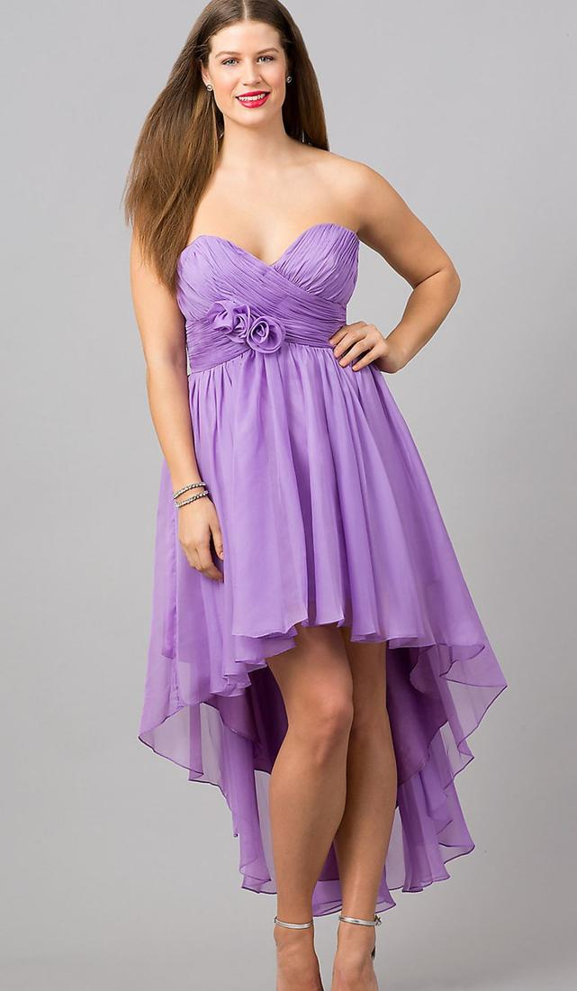 Plus size lavender dresses - PlusLook.eu Collection