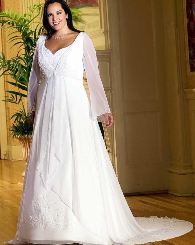 Plus size celtic wedding dresses - PlusLook.eu Collection