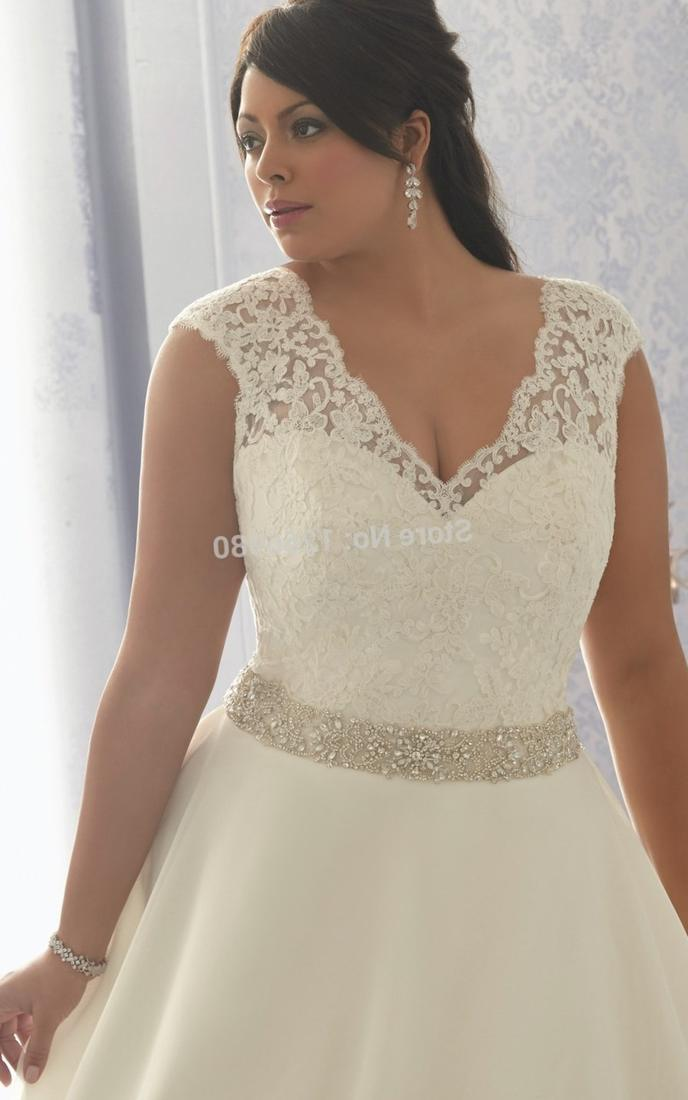 Extra plus size wedding dresses - PlusLook.eu Collection