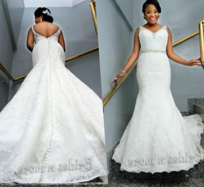 Plus size sheath wedding dress - PlusLook.eu Collection
