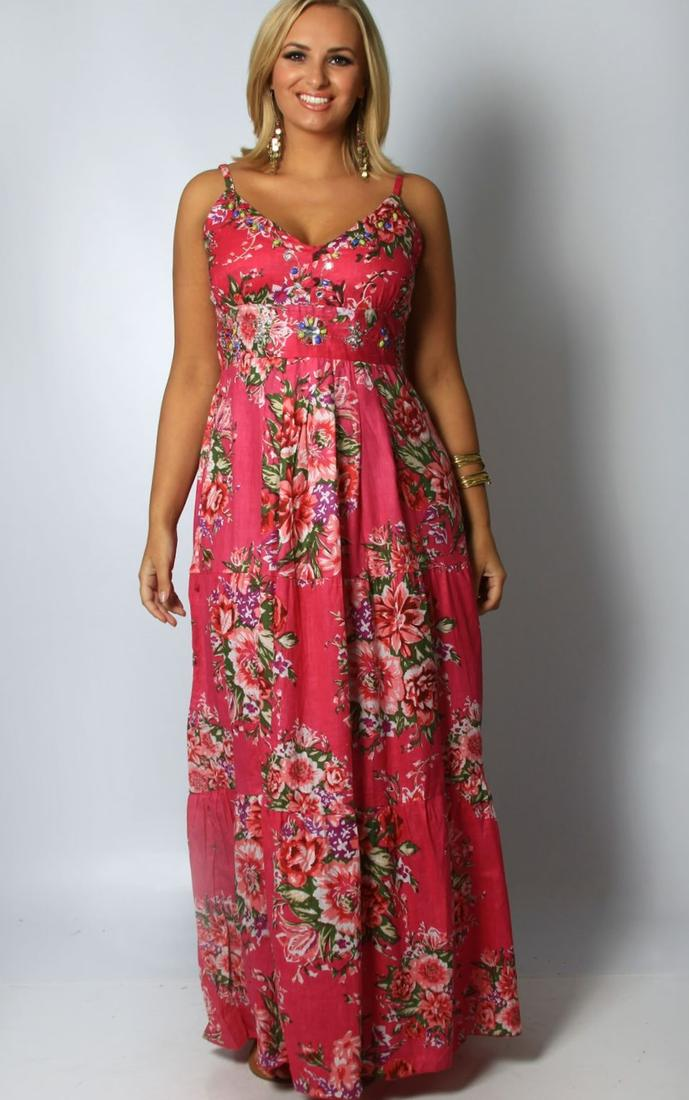 Plus Size Beach Maxi Dresses Pluslook Collection
