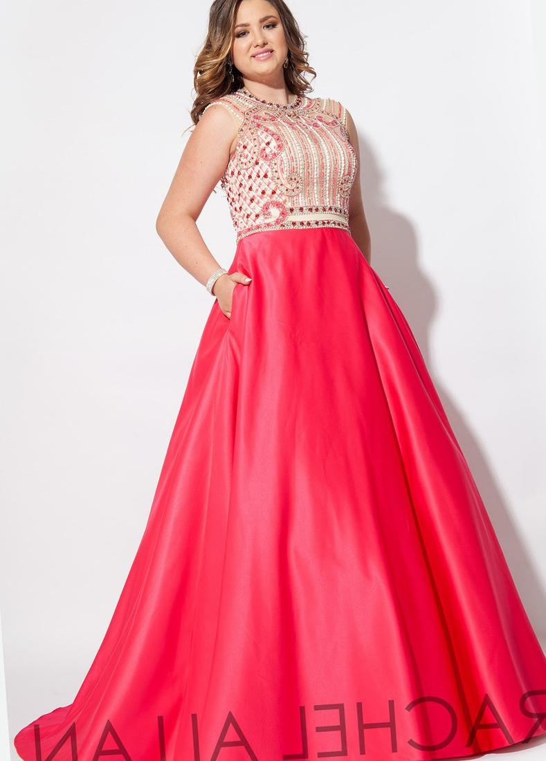 Arabic V-neck Cap Short Sleeves Pink Chiffon A-line Floor Length Beaded Formal Elegant Evening Gowns Plus Size Prom Dresses 2018