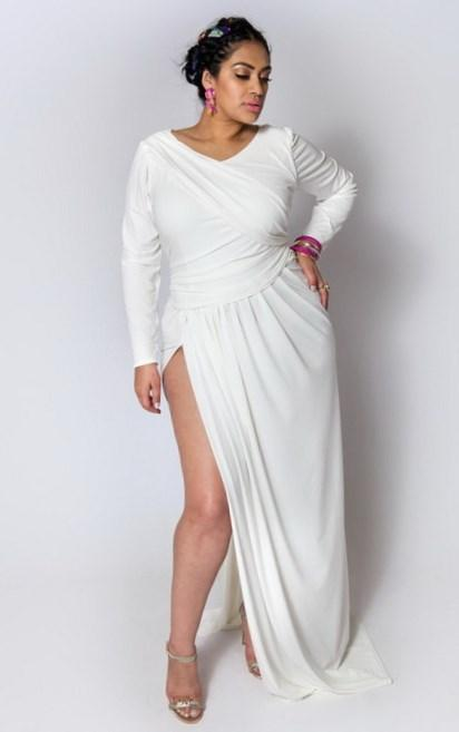 Buy the latest women's White dresses online at low price. StyleWe offers cheap dresses in red, black, white and more for different occasions. Plus Size Dresses Plus Size Tops White A-line Guipure lace See-through Look Tiered Ruffled Midi Dress. $ Free Shipping.