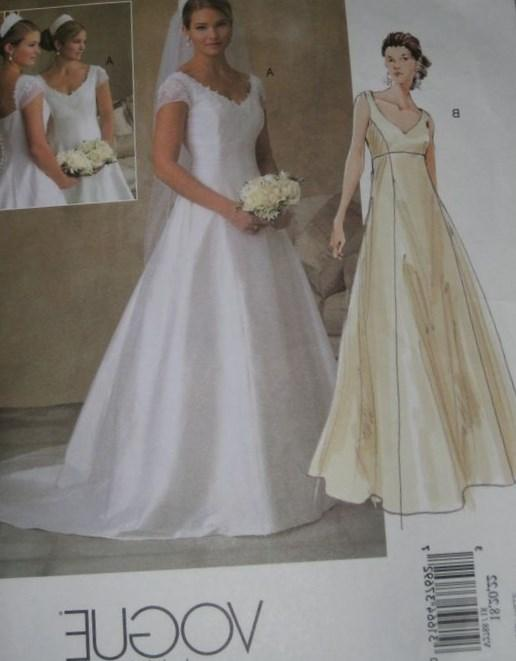 Wedding Dress Plus Size Patterns : Plus size evening dress patterns pluslook eu collection