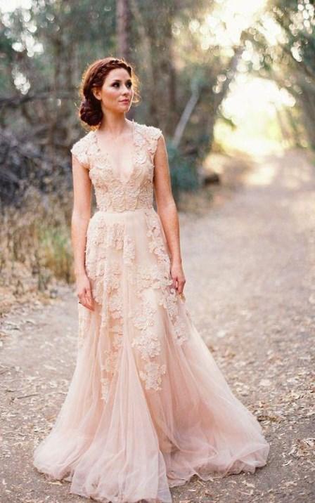 Blush Pink Plus Size Bridesmaid Dresses : Plus size pink wedding dresses pluslook eu collection