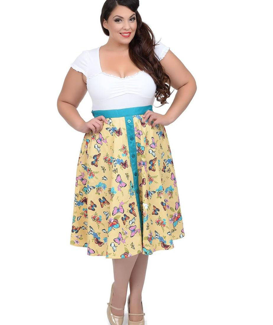 Butterfly dresses plus size - PlusLook.eu Collection