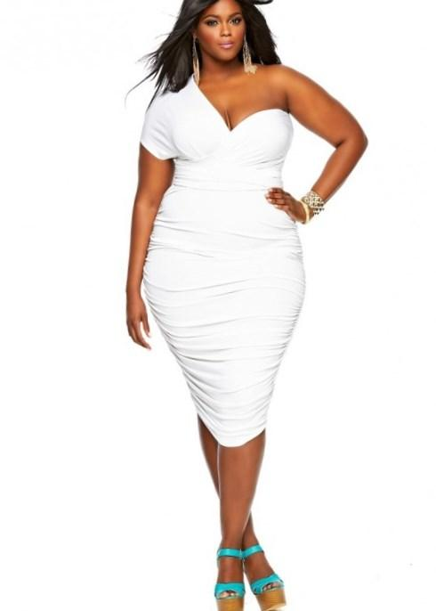 Plus Size Clothing for Women - Loey Lane Sheer Cut Dress (14 - 22)