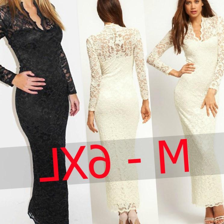 Women Lace Bodycon Dress Summer Ladies Formal Office Dresses Casual Plus Size OL Elegant Slim Knee