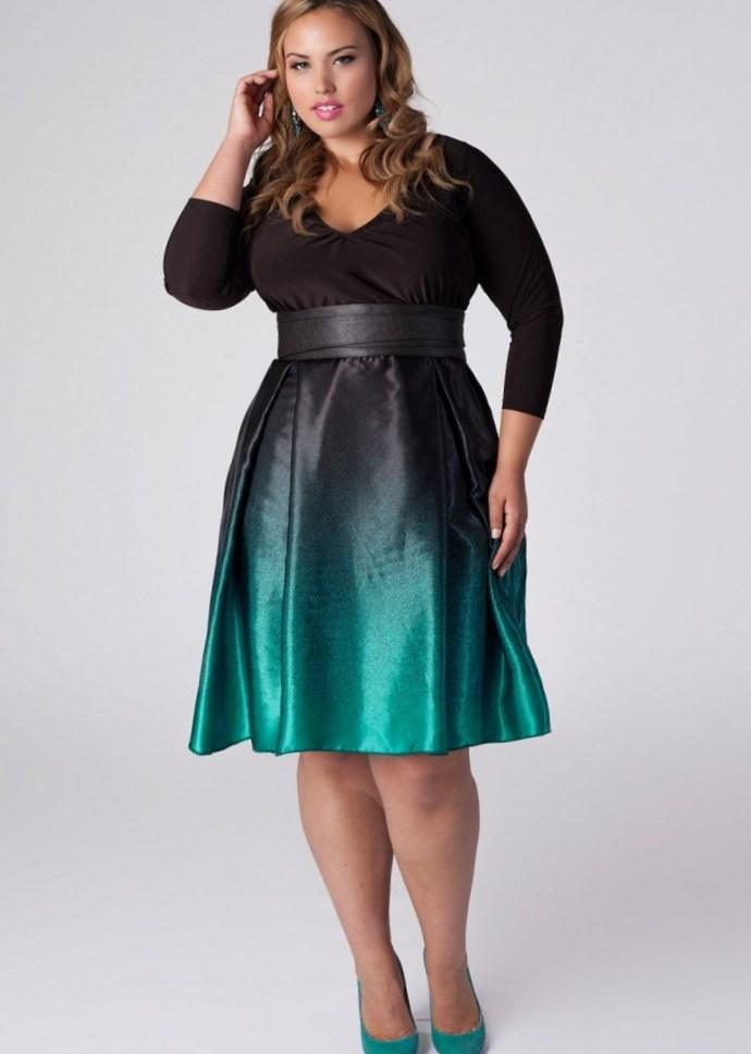 Semi formal dresses plus size juniors - PlusLook.eu Collection
