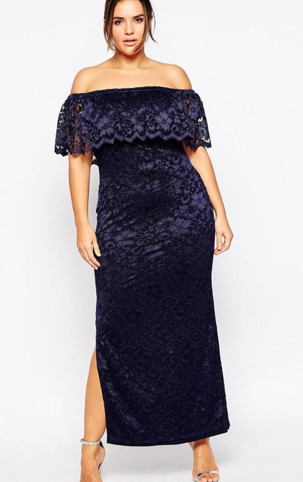 Plus size maxi party dresses - PlusLook.eu Collection