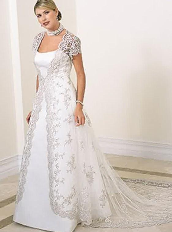 Wedding Dress With Sleeves Plus Size Pluslook Eu Collection