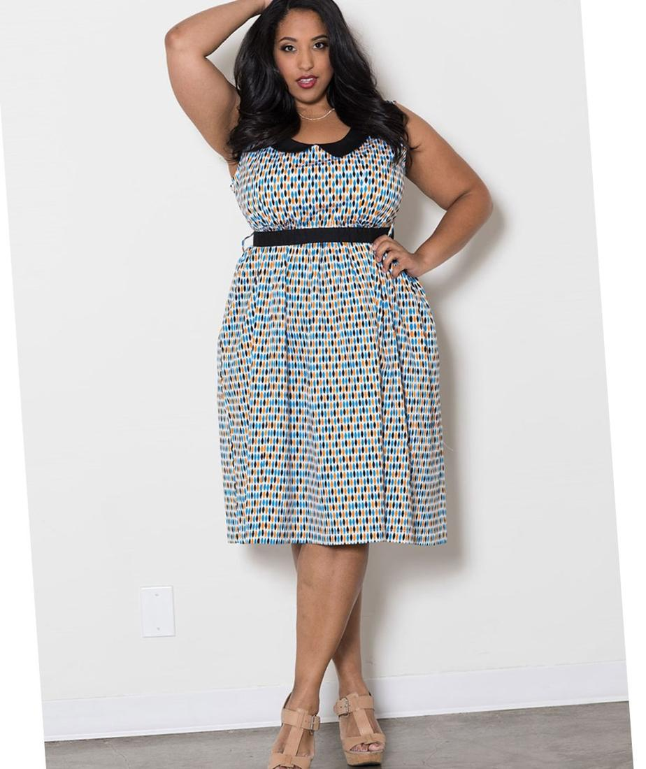 Plus size dress styles - PlusLook.eu Collection