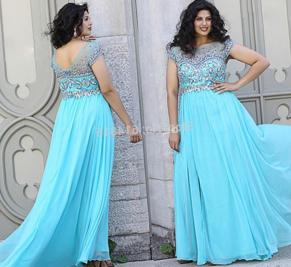 Blue Beach Wedding Dresses Plus Size Mother of the Bride Teal ...