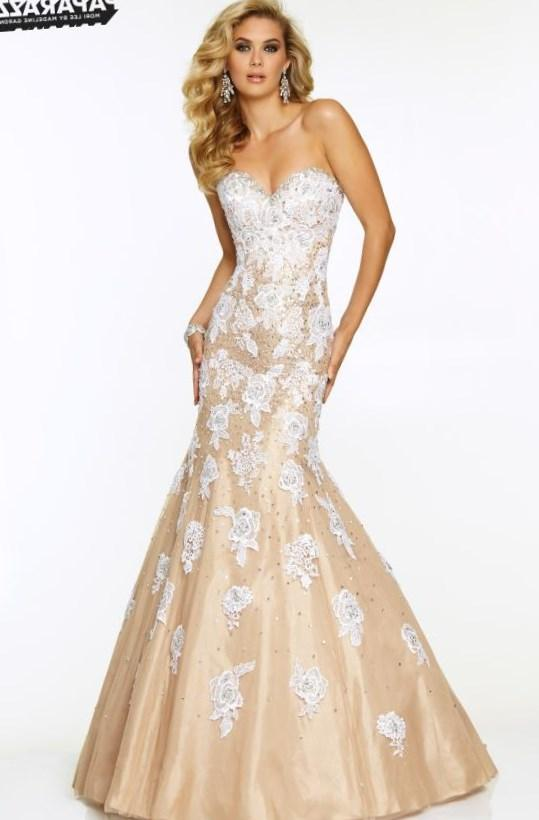 Image of Long Sleeveless Prom Dress by Mori Lee Detail Image 2