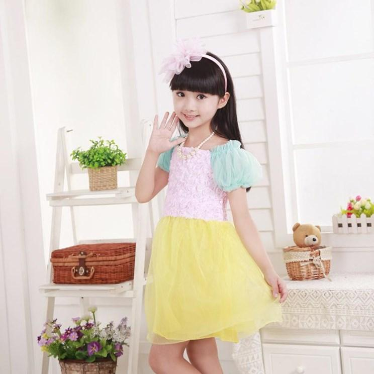 Girl plus size easter dresses