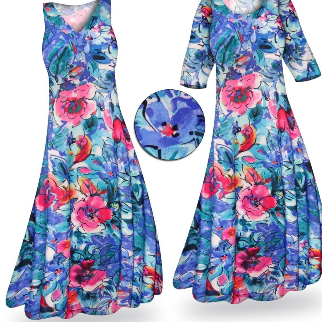 Hawaiian dress plus size - Luau Style: PlusLook.eu Collection