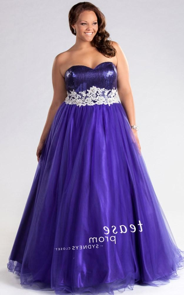 Purple Plus Size Prom Dresses Pluslook Eu Collection
