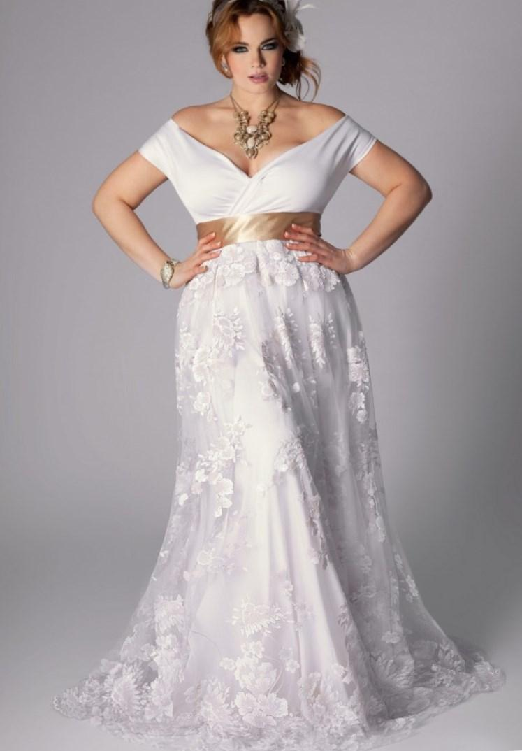 sexy plus size wedding dress collection