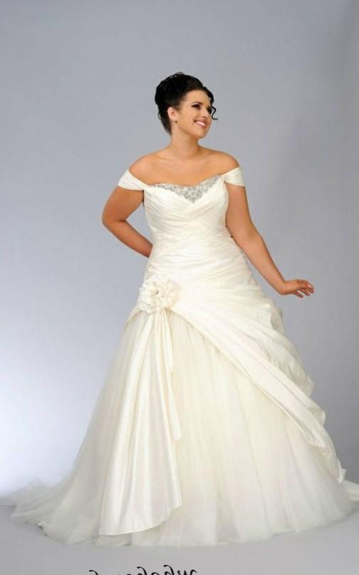 Strapless plus size wedding dresses - PlusLook.eu Collection