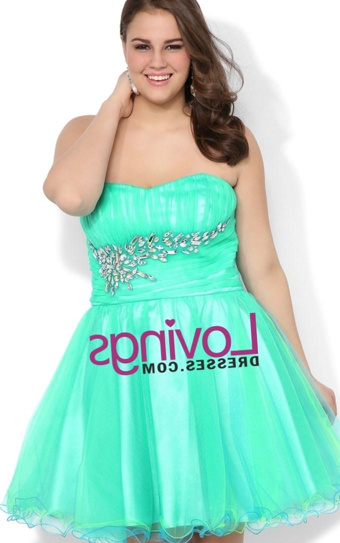 Short Prom Dresses Plus Size Pluslook Collection