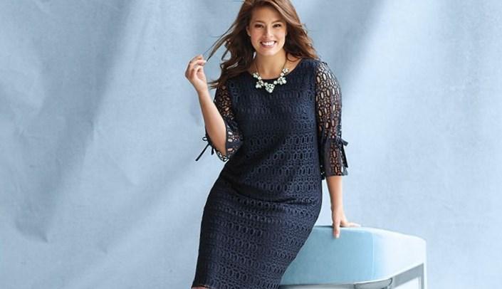 Dress barn dress clothes plus size women