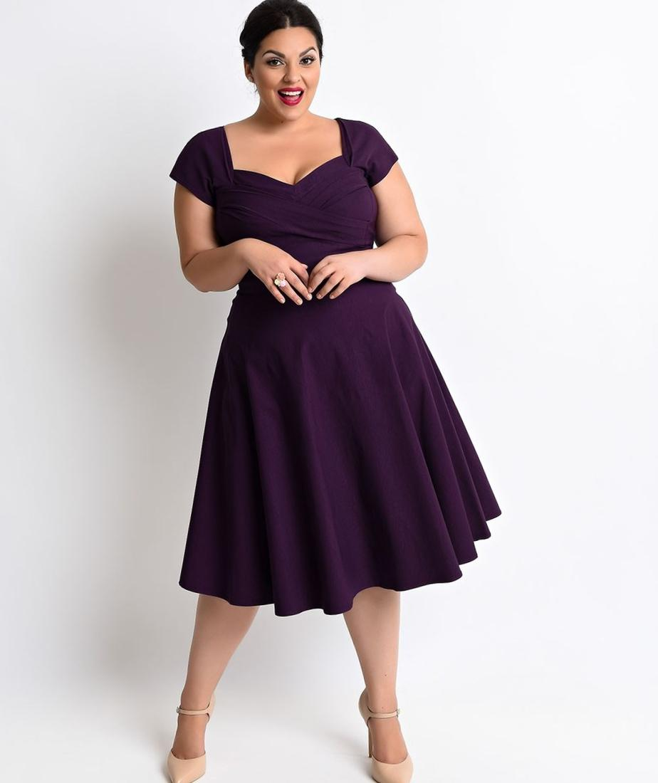 Plus Size Vintage Dresses 1940s 88